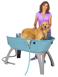 booster bath dog dry Booster Bath Dog Bathing System Will Take The Hassle Out of Bathing Your Dog
